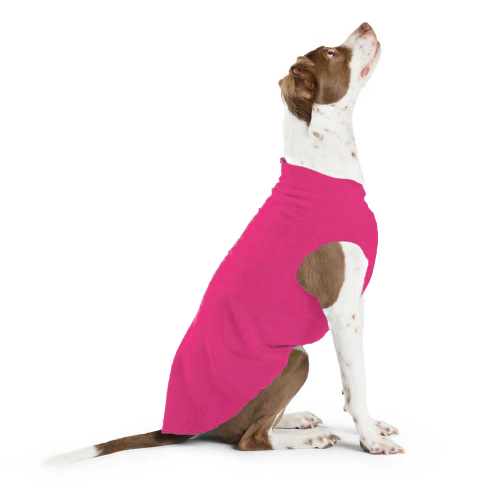 GOLD PAW STRETCH FUCHSIA DOG FLEECE, Sweaters - Bones Bizzness