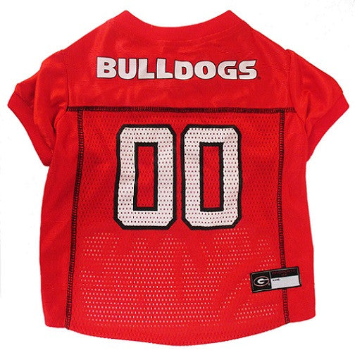 GEORGIA BULLDOGS DOG JERSEY, NCAA - Bones Bizzness