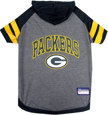GREEN BAY PACKERS HOODIE DOG TEE, NFL Jerseys - Bones Bizzness