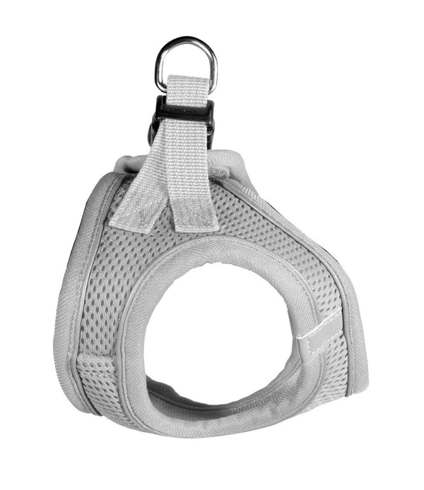 EZ REFLECTIVE SPORTS MESH HARNESS VEST - GREY
