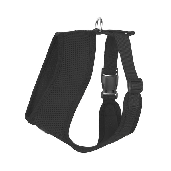 ULTRA COMFORT MESH HARNESS VEST - BLACK
