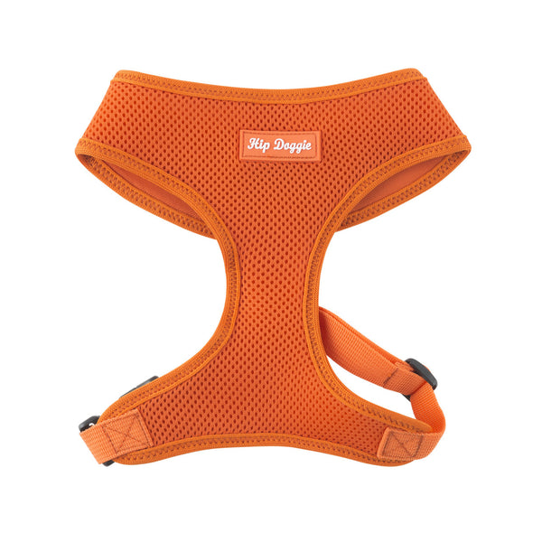 ULTRA COMFORT MESH HARNESS VEST - ORANGE