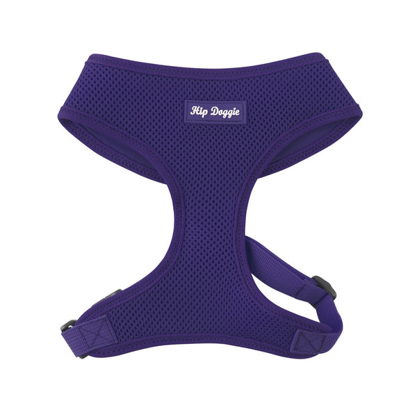 ULTRA COMFORT MESH HARNESS VEST - PURPLE