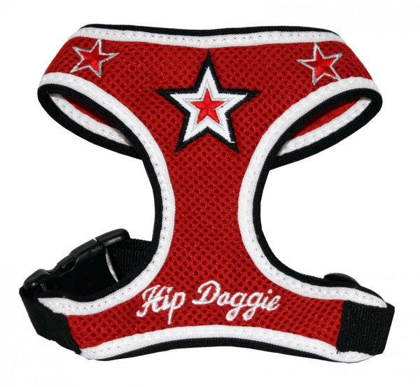 SUPER STAR MESH HARNESS VEST - RED