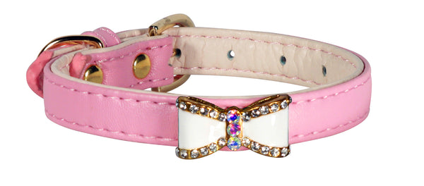 DARLING BOW COLLAR - PINK