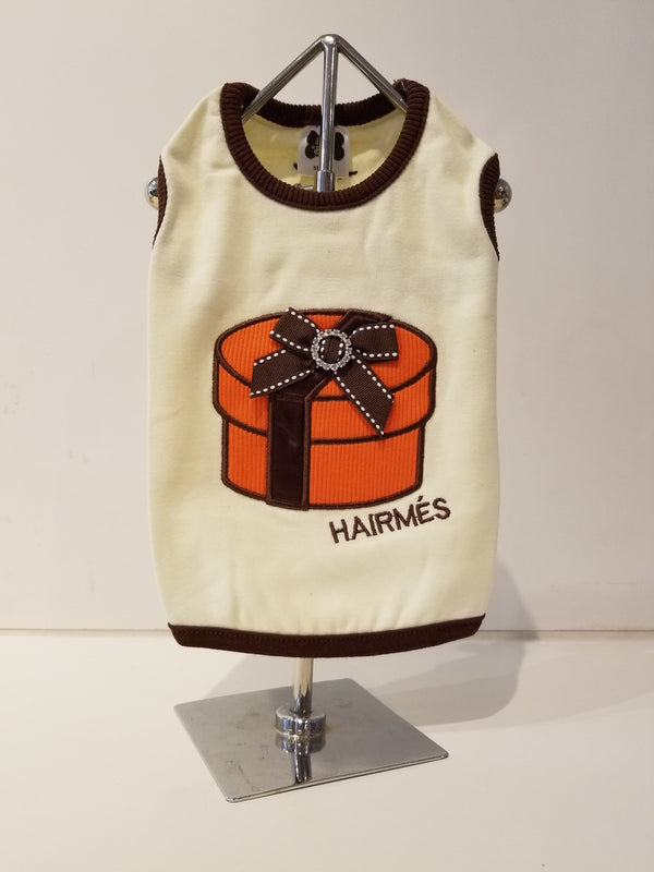 HAIRMES ROUND GIFT BOX DOG TANK