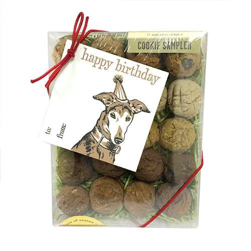 Happy Birthday Gift Card Box Dog Treats