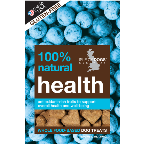 HEALTH 100% NATURAL BAKED TREAT - FEATURING WHOLE OATS AND BLUEBERRY, Treats - Bones Bizzness