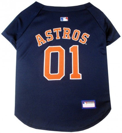 HOUSTON ASTROS DOG JERSEY, MLB - Bones Bizzness