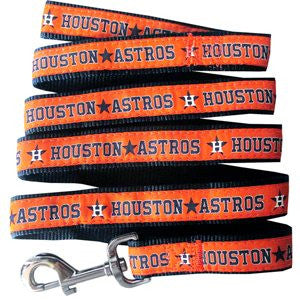 HOUSTON ASTROS DOG LEASH – RIBBON, MLB - Bones Bizzness