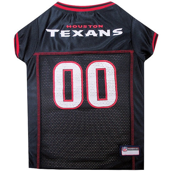 HOUSTON TEXANS DOG JERSEY- RED TRIM, NFL Jerseys - Bones Bizzness