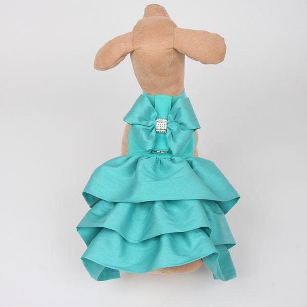 BIMINI BLUE MADISON COUTURE DOG DRESS HARNESS, DRESS - Bones Bizzness