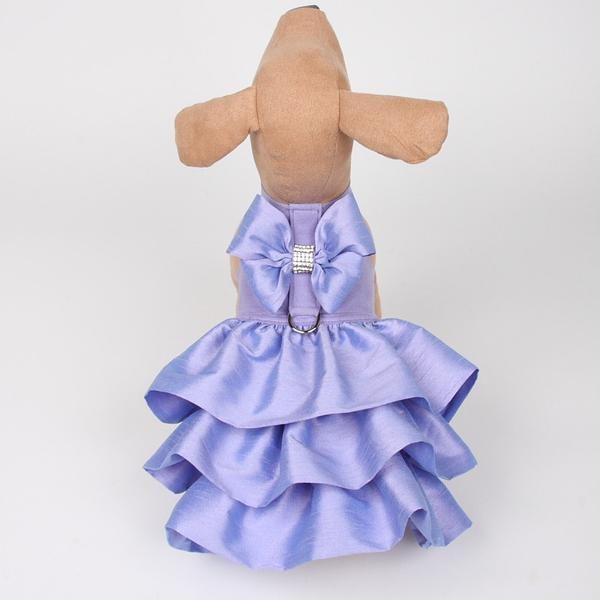 FRENCH LAVENDER MADISON COUTURE DOG DRESS HARNESS, DRESS - Bones Bizzness
