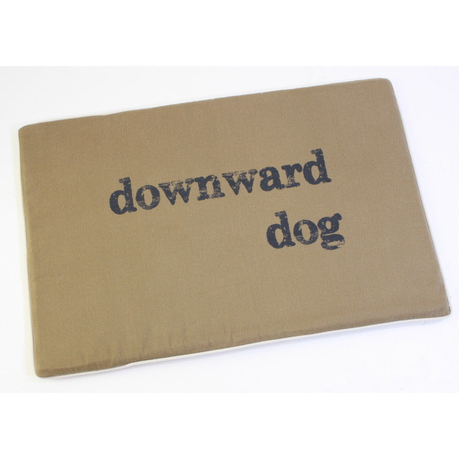 "ECO-FRIENDLY DOG MAT/BED - ""DOWNWARD DOG"", Beds - Bones Bizzness"