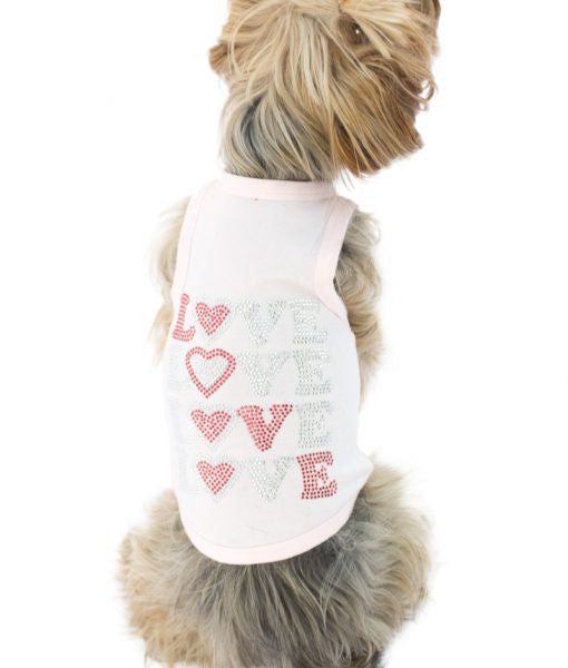FOUR LOVE DOG TANK, Shirts Tanks & Tees - Bones Bizzness