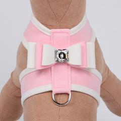 PUPPY PINK SPECIAL OCCASION BIG BOW TINKIE DOG HARNESS, Harness - Bones Bizzness