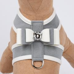 PLATINUM SPECIAL OCCASION BIG BOW TINKIE DOG HARNESS, Harness - Bones Bizzness