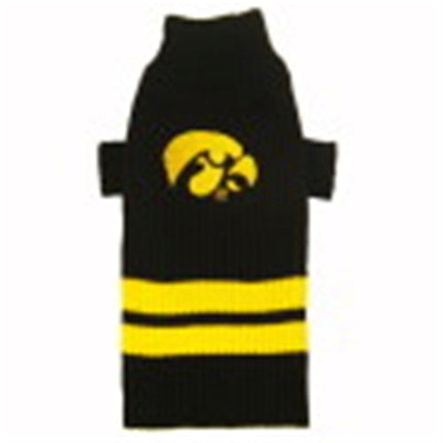 IOWA HAWKEYES DOG SWEATER, NCAA - Bones Bizzness
