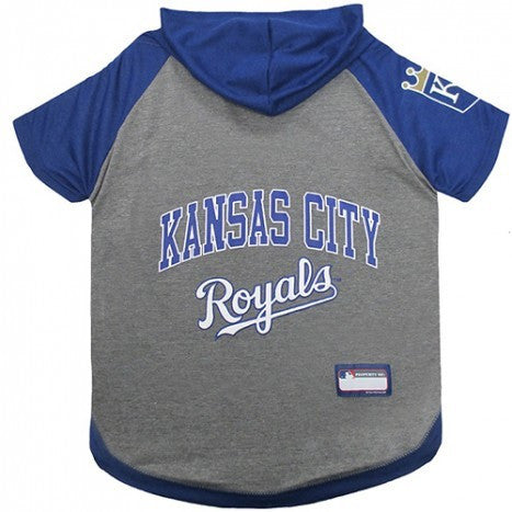 KANSAS CITY ROYALS HOODY DOG TEE, MLB - Bones Bizzness