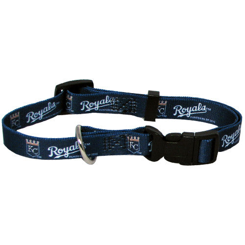 KANSAS CITY ROYALS DOG COLLAR, MLB - Bones Bizzness