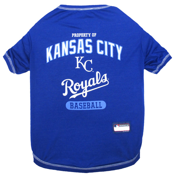 KANSAS CITY ROYALS DOG TEE, MLB - Bones Bizzness