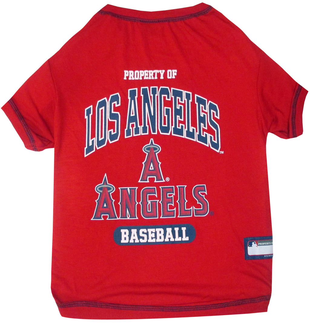 LOS ANGELES ANGELS DOG TEE SHIRT, MLB - Bones Bizzness