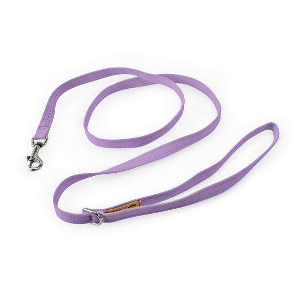 ULTRAVIOLET PLAIN DOG LEASH, SUSAN LANCI LEASHES - Bones Bizzness