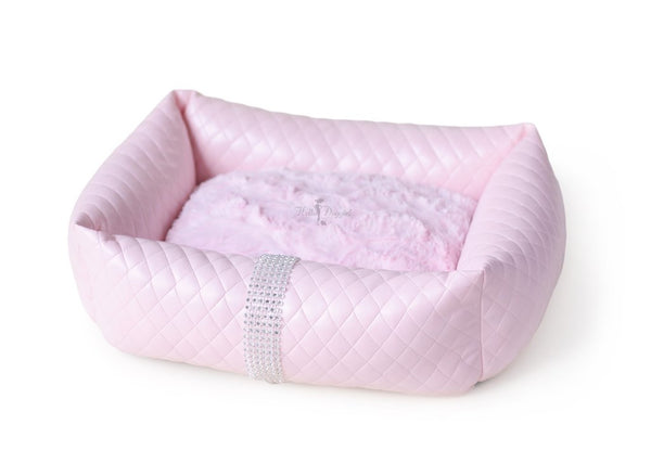 LIQUID ICE DOG BED - PINK
