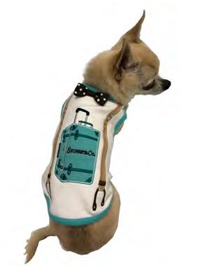 SNIFFANY TRAVEL LUGGAGE DOG TANK