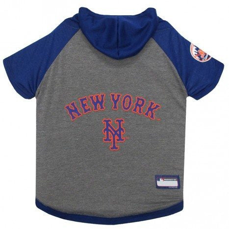 NEW YORK METS HOODY DOG TEE, MLB - Bones Bizzness