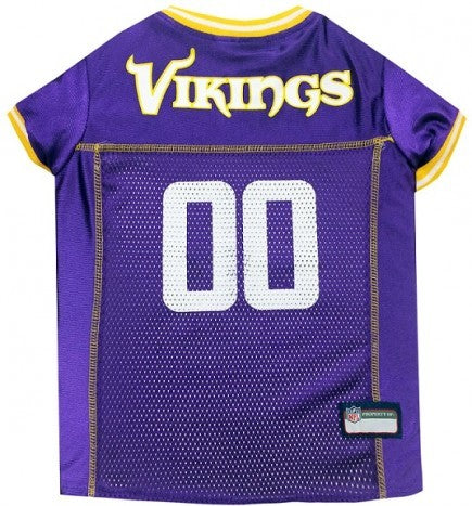 MINNESOTA VIKINGS DOG JERSEY, NFL Jerseys - Bones Bizzness