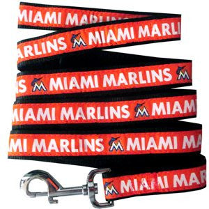 MIAMI MARLINS DOG LEASH – RIBBON, MLB - Bones Bizzness