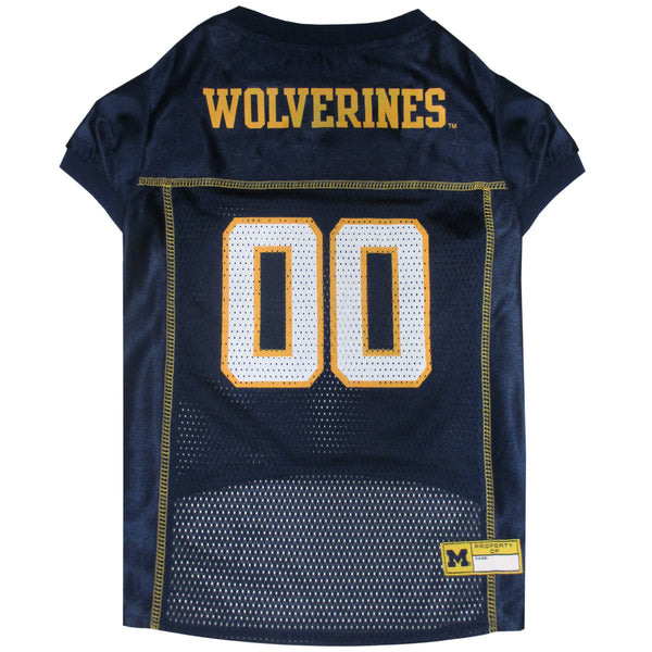 MICHIGAN WOLVERINES DOG JERSEY, NCAA - Bones Bizzness