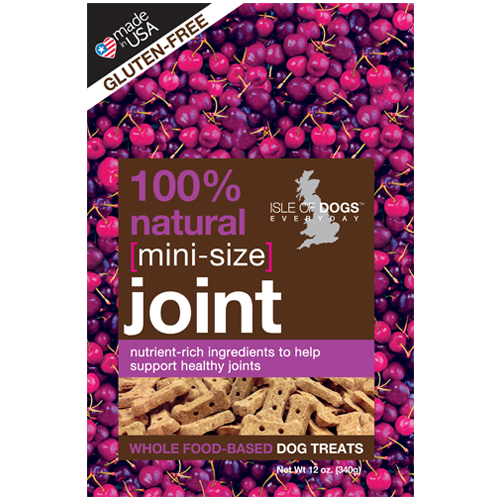 MINI-JOINT 100% NATURAL BAKED TREAT - FEATURING GLUCOSAMINE AND CHONDROITIN, Treats - Bones Bizzness