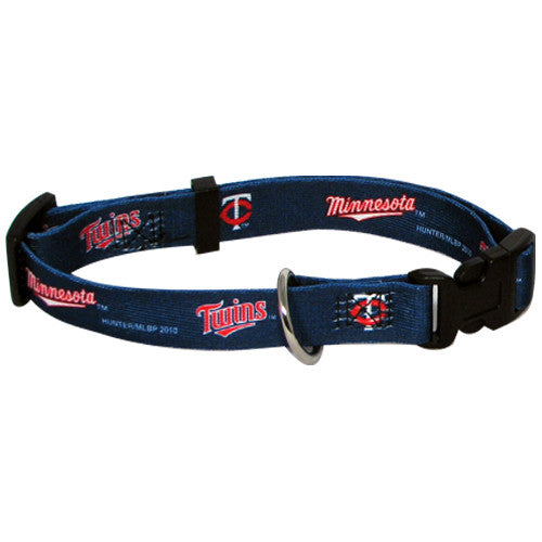 MINNESOTA TWINS DOG COLLAR, MLB - Bones Bizzness