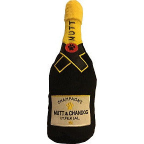 MUTT & CHANDOG CHAMPAGNE DOG TOY, Toys - Bones Bizzness