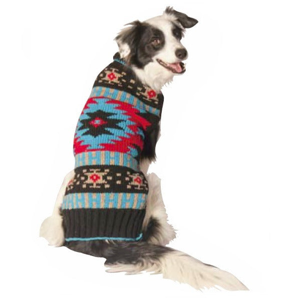 NAVAJO SHAWL DOG SWEATER BY CHILLY DOG - Bones Bizzness