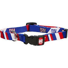NEW YORK GIANTS DOG COLLAR, NFL Collars - Bones Bizzness