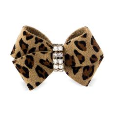 CHEETAH NOUVEAU COUTURE HAIR BOW, HAIR BOW - Bones Bizzness