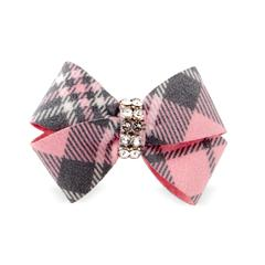 PUPPY PINK SCOTTY NOUVEAU DOG HAIR BOWS, HAIR BOW - Bones Bizzness