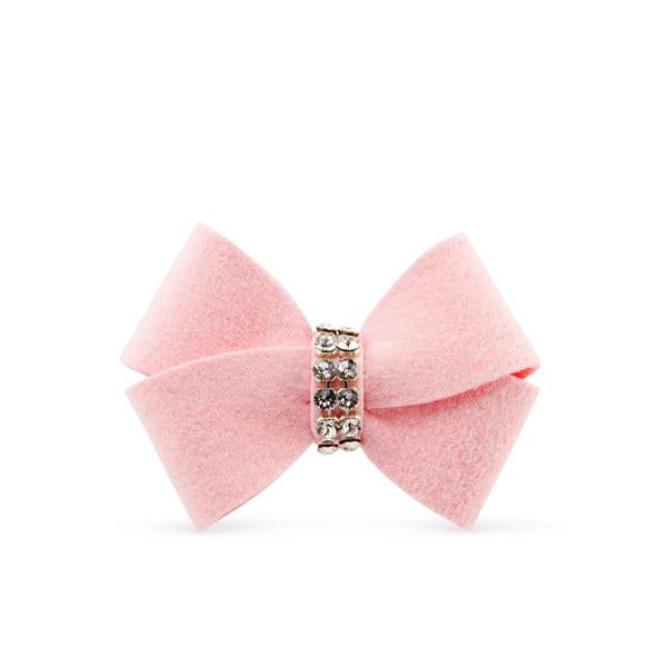 PUPPY PINK NOUVEAU DOG HAIR BOW, HAIR BOW - Bones Bizzness