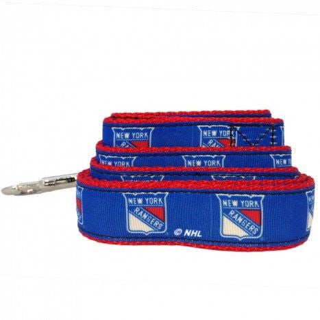NEW YORK RANGERS DOG LEASH – RIBBON, NHL - Bones Bizzness