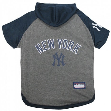 NEW YORK YANKEES HOODY DOG TEE, MLB - Bones Bizzness