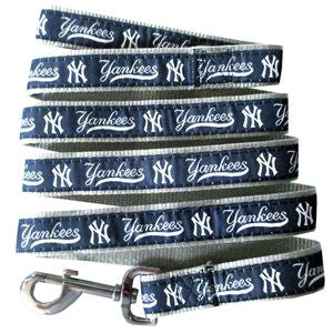 NEW YORK YANKEES DOG LEASH – RIBBON, MLB - Bones Bizzness
