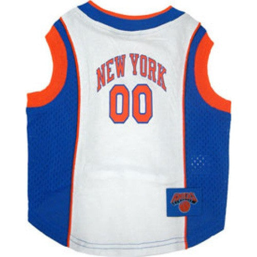 NEW YORK KNICKS DOG JERSEY, NBA - Bones Bizzness