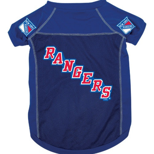 NEW YORK RANGERS DOG JERSEY, NHL - Bones Bizzness