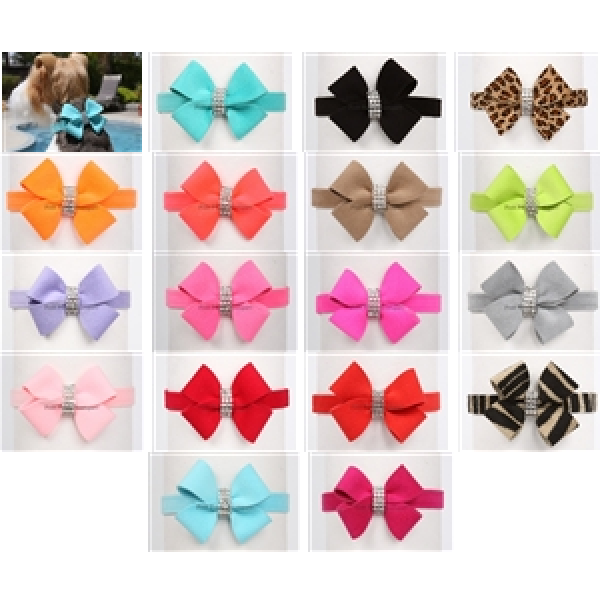 SUSAN LANCI NOUVEAU DOG COLLARS (42 Colors), Collars - Bones Bizzness