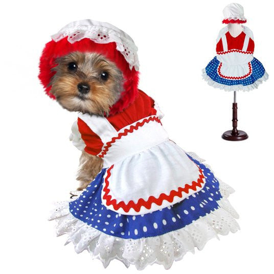 RAGDOLL GIRL DOG COSTUME, Costume - Bones Bizzness