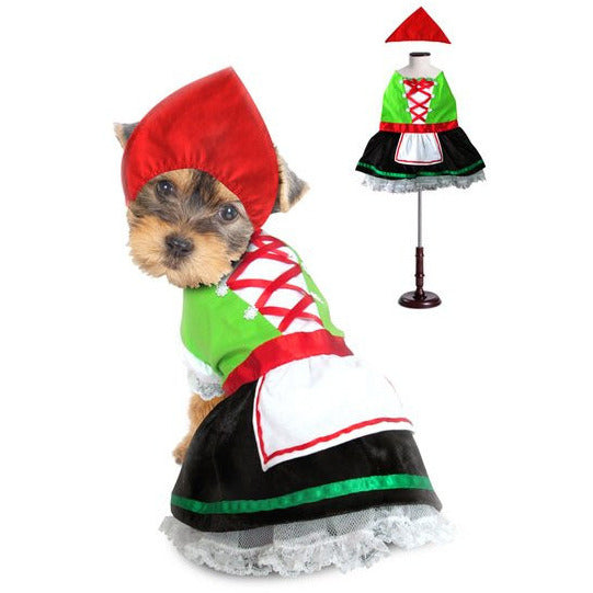 ALPINE GIRL DOG COSTUME, Costume - Bones Bizzness