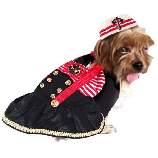 CAPTAINS MATE DOG COSTUME, Costume - Bones Bizzness